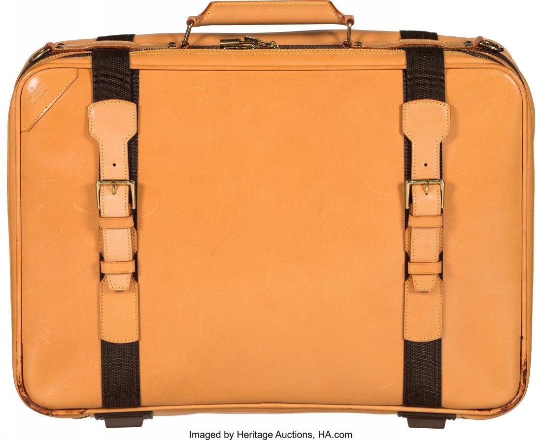 58037: Louis Vuitton All Vachetta Leather Satellite 50