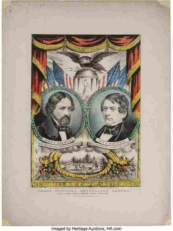 43037: Frémont & Dayton: Jugate Grand National Banner.