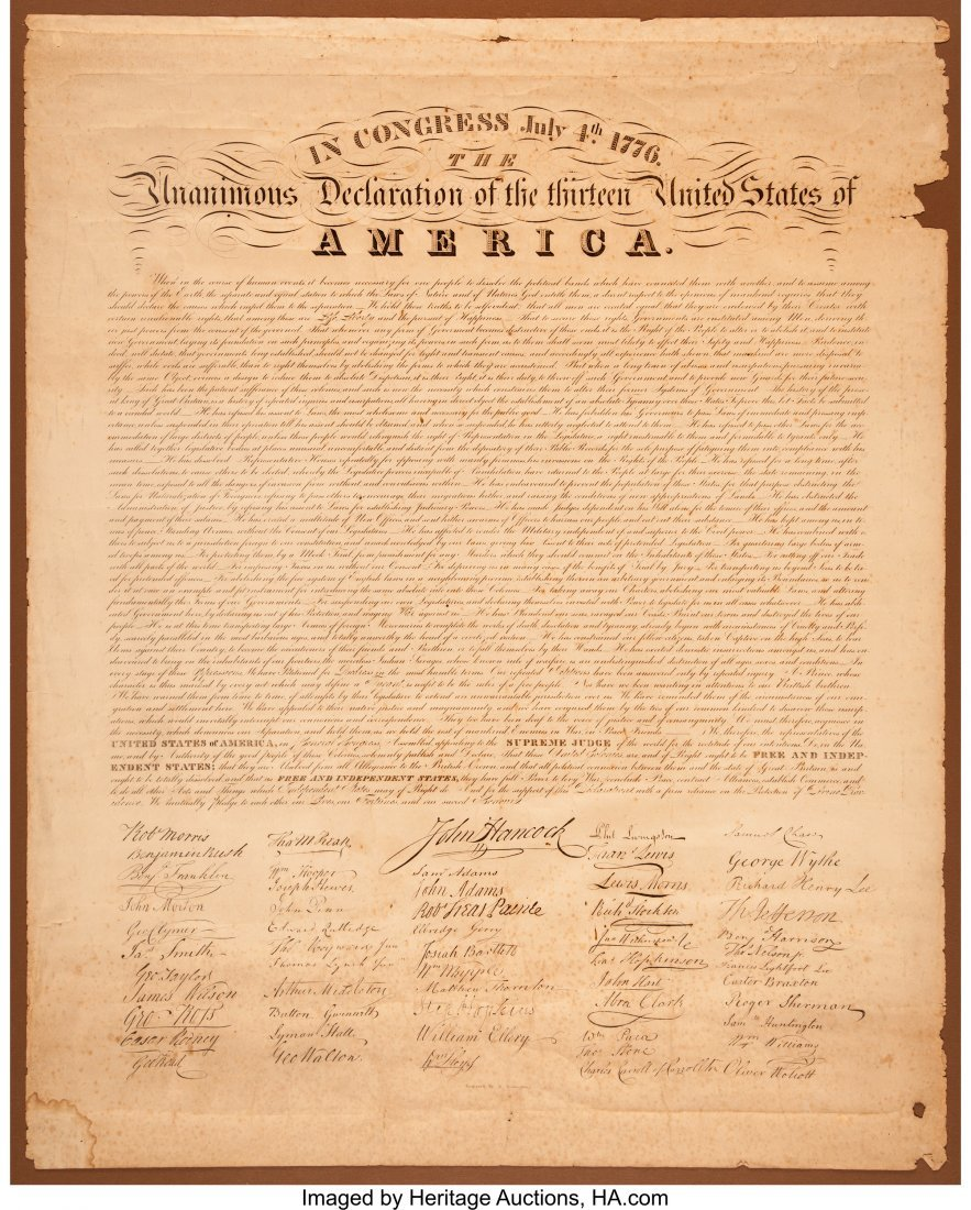 2 02 declaration of independence A rare copy of the declaration of independence made for james madison that survived the rare copy of declaration of independence survived civil 02 may 2018.