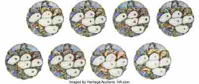 43084: Rutherford B. Hayes: White House China. Set of e