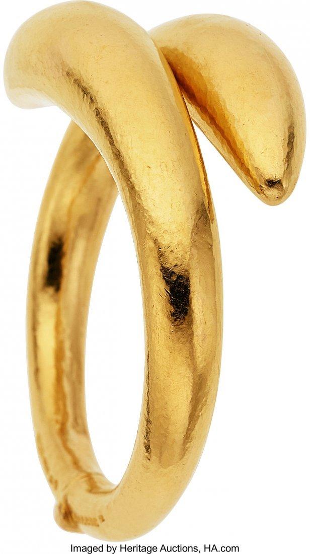 55029: Gold Bracelet, Lalaounis   The 18k gold bracelet - 2