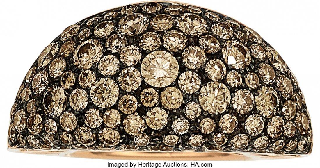 55070: Colored Diamond, Gold Ring, De Grisogono   The r - 2