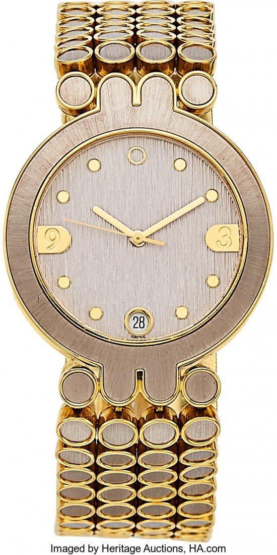 55078: Harry Winston Lady's Gold Classique Watch  Case: