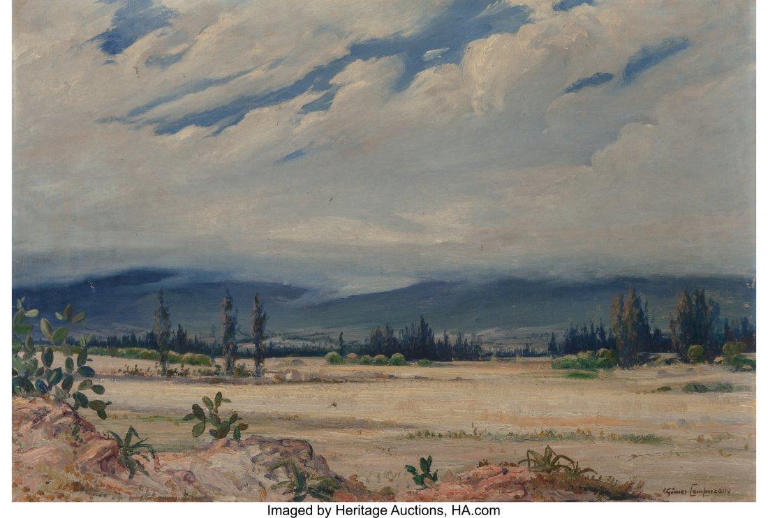 61094: Ricardo Gomez Campuzano (Columbian, 1891-1981) D
