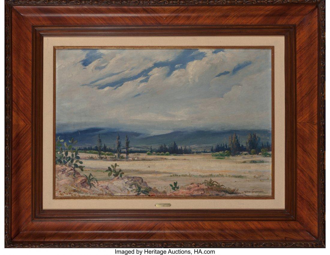 61094: Ricardo Gomez Campuzano (Columbian, 1891-1981) D - 3