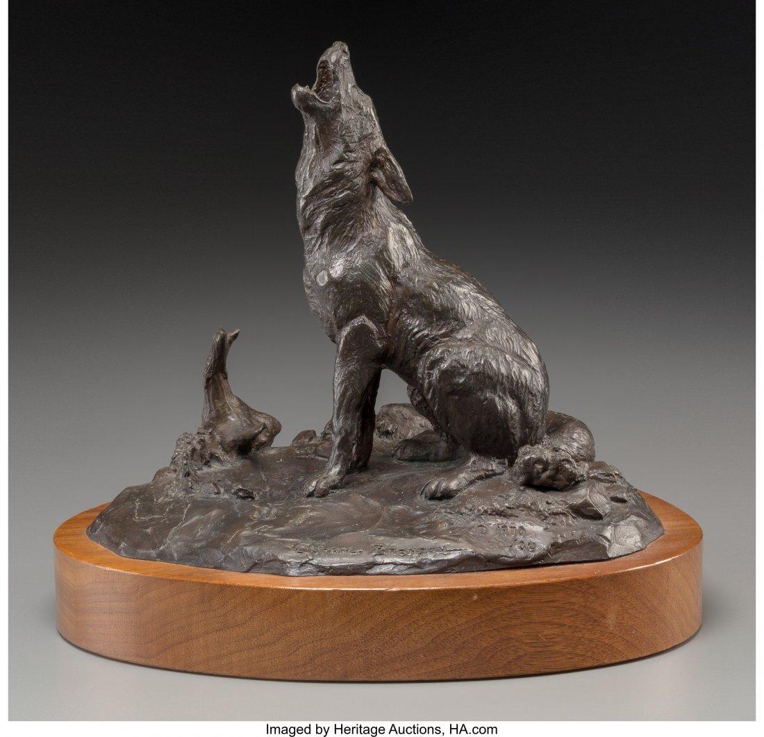 61101: Clark Everice Bronson (American, b. 1939) Coyote - 2