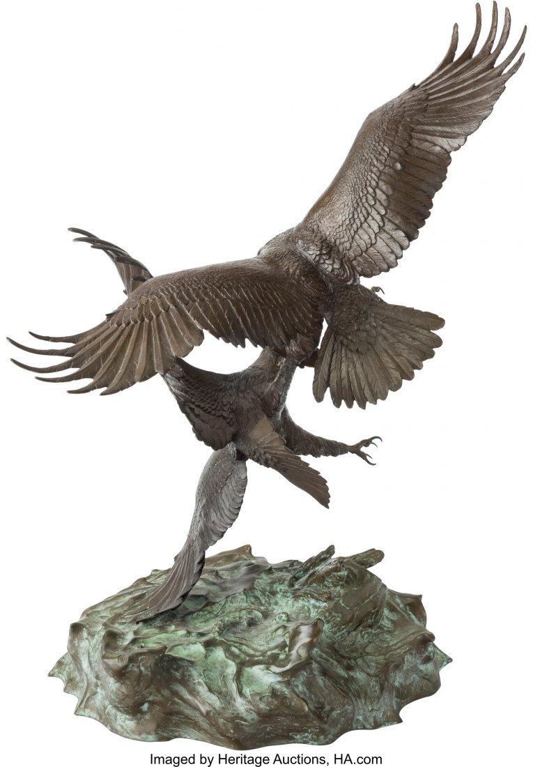 61118: Clark Everice Bronson (American, b. 1939) Eagle' - 2