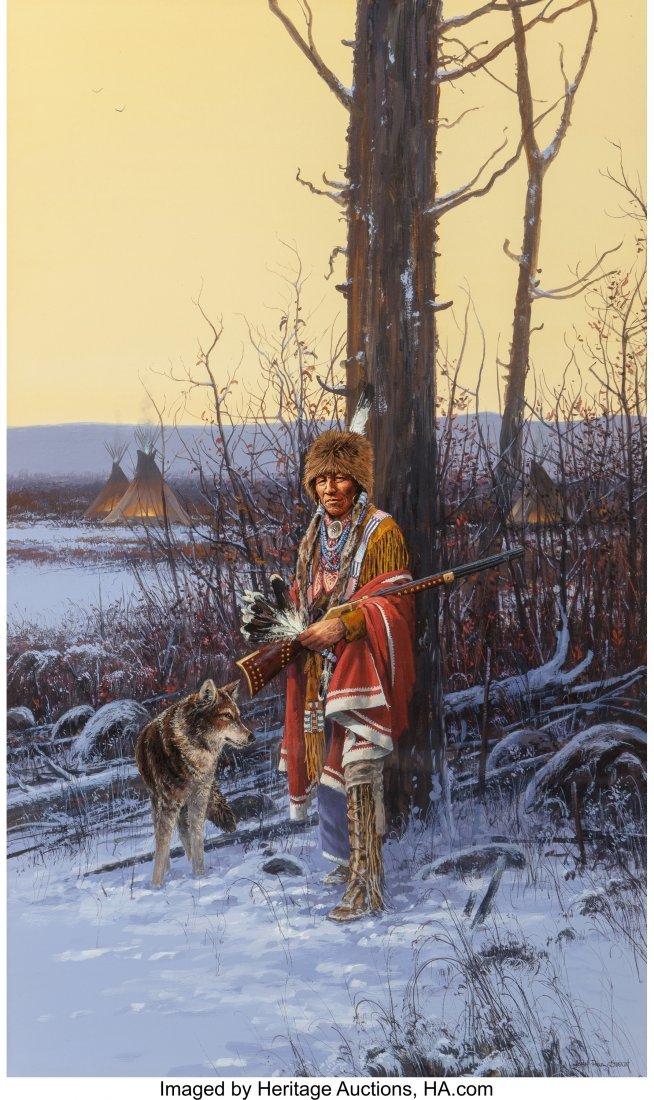 61045: John Paul Strain (American, b. 1955) Cheyenne Wi