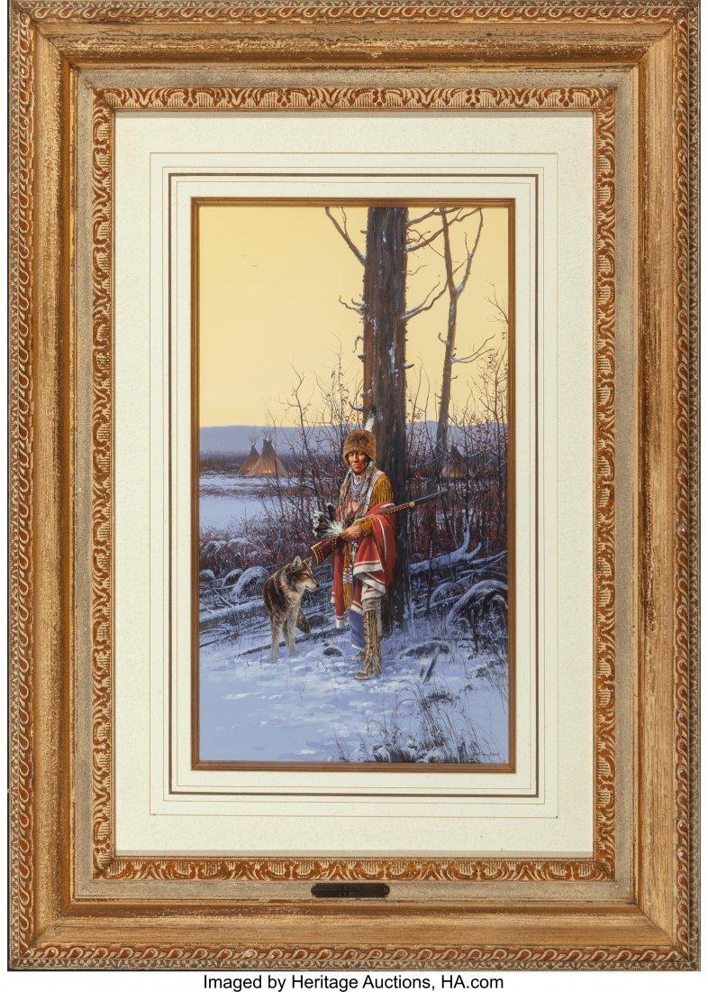 61045: John Paul Strain (American, b. 1955) Cheyenne Wi - 2