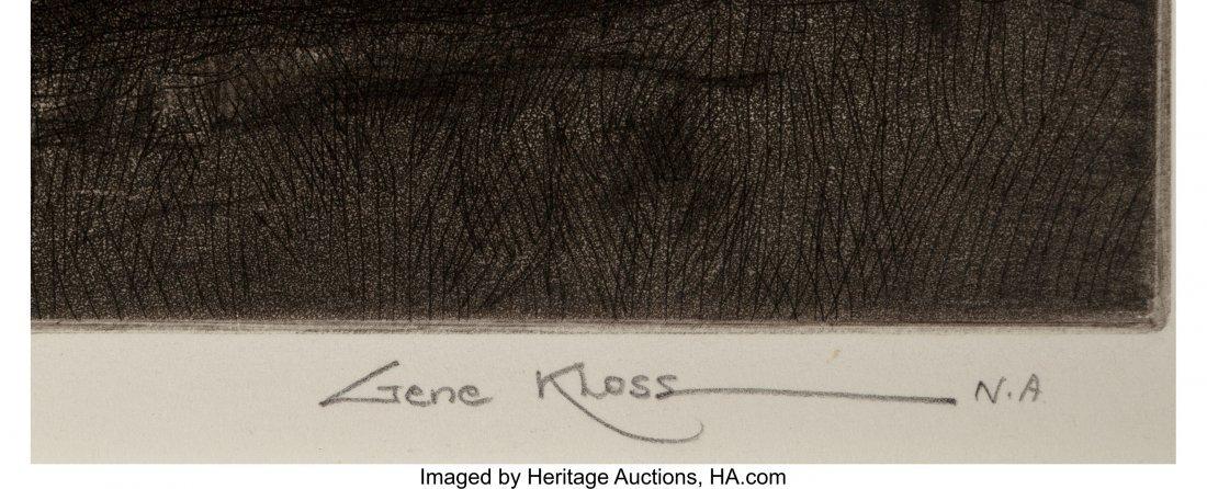 61055: Gene Kloss (American, 1903-1996) Sundown Etching - 3