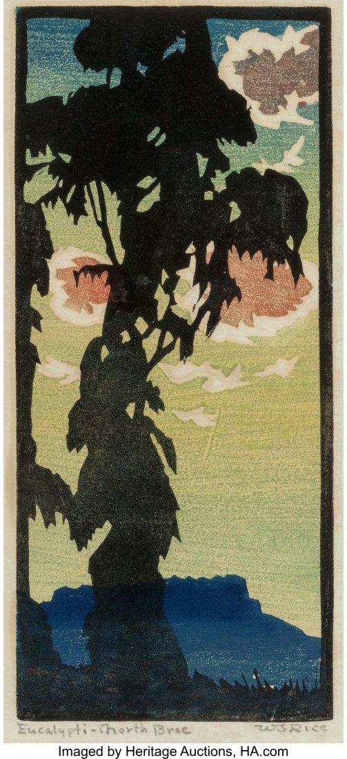 61279: William S. Rice (American, 1873-1963) Eucalypti-