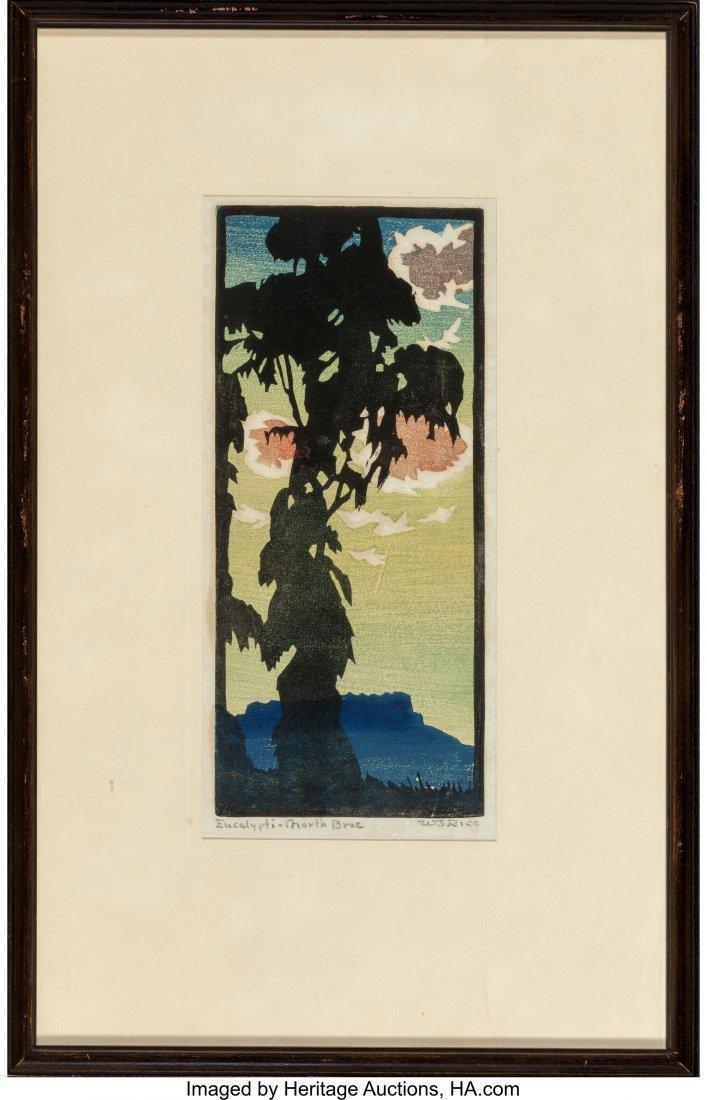 61279: William S. Rice (American, 1873-1963) Eucalypti- - 2