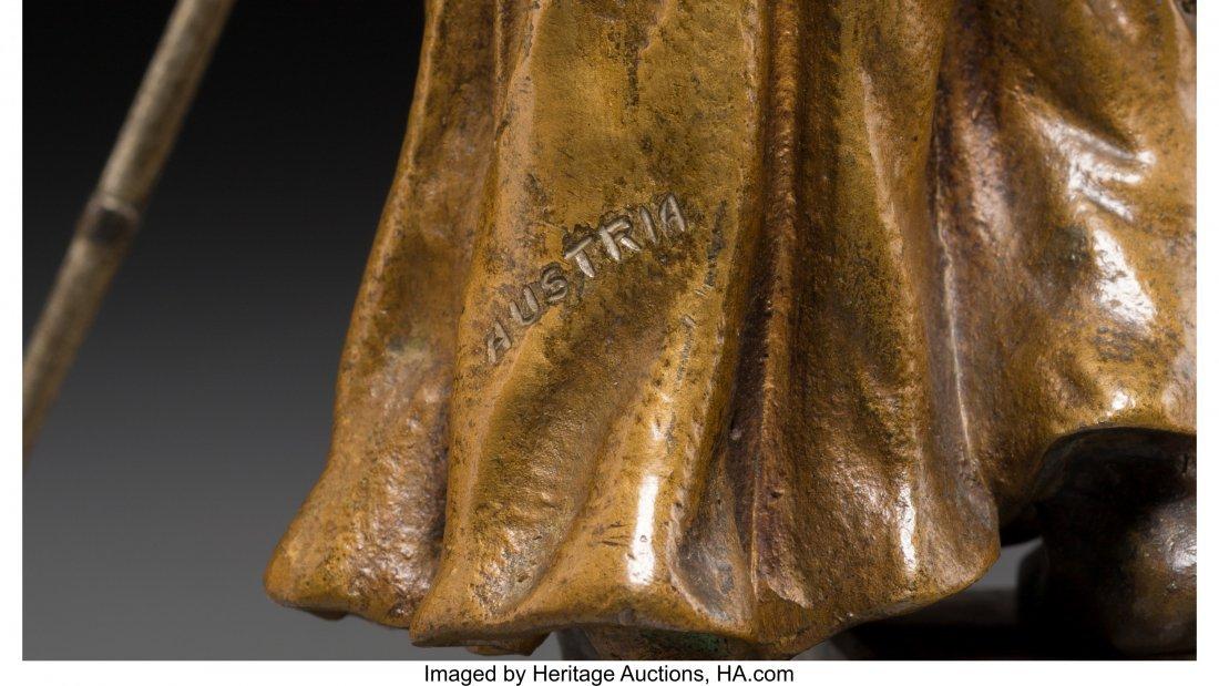 61334: A Bergman-Style Cold-Painted Bronze Figure: Arab - 3
