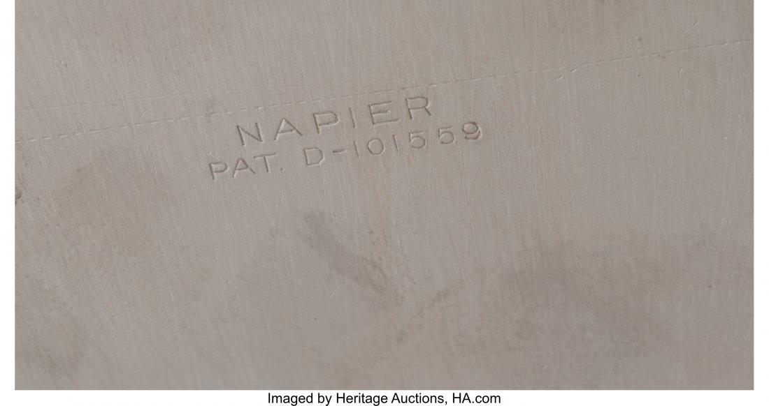 61258: An Emil A. Schuelke for Napier Silver-Plated Pen - 3