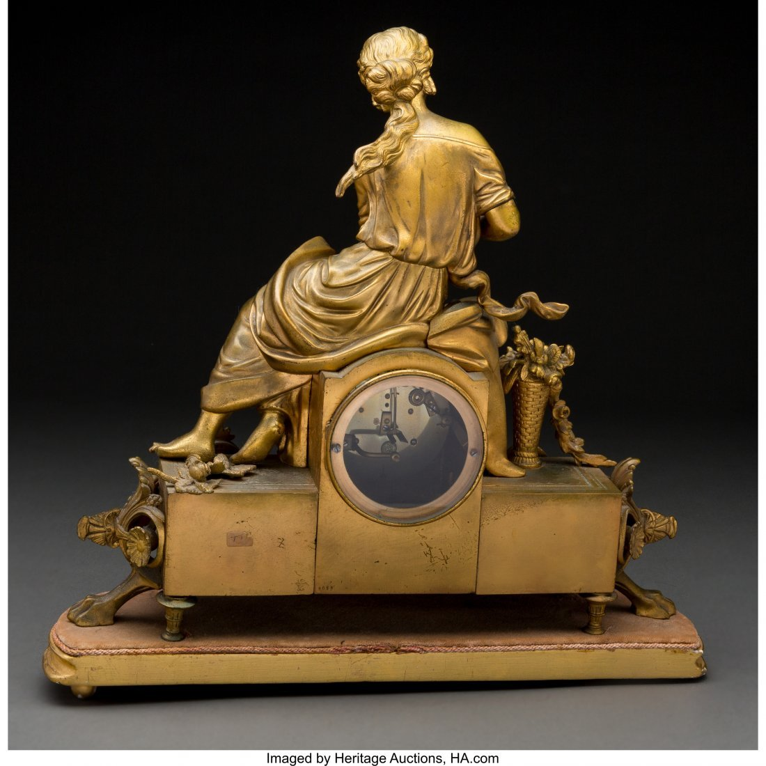 61472: A French Louis XVI-Style GIlt Bronze and Porcela - 2