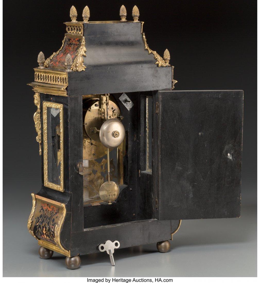 61498: A Louis XVI-Style Faux Boulle Figural Bracket Cl - 3