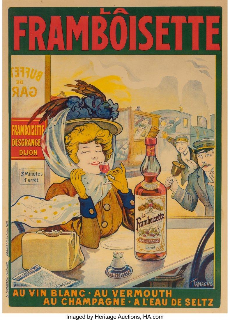 61268: Tamagno (French, 1871-1930) La Framboisette, c.