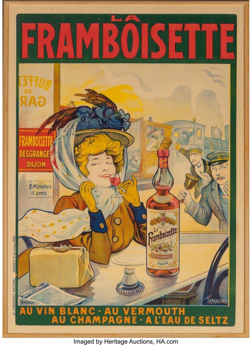 61268: Tamagno (French, 1871-1930) La Framboisette, c.  - 2