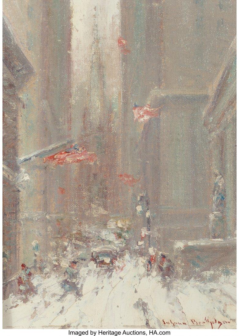 61681: Johann Berthelsen (American, 1883-1972) Wall Str