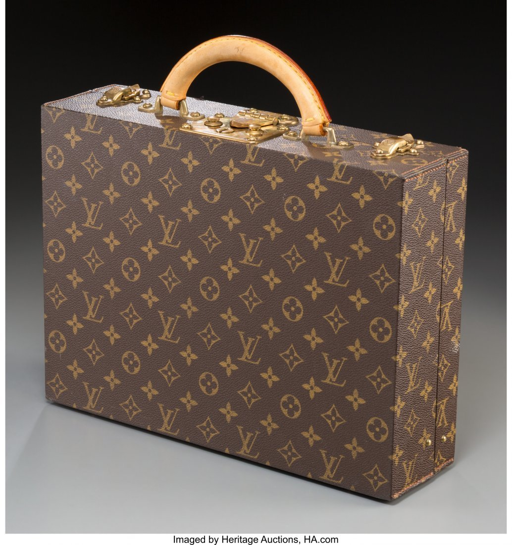61374: A Louis Vuitton Classic Monogram Leather Briefca - 2