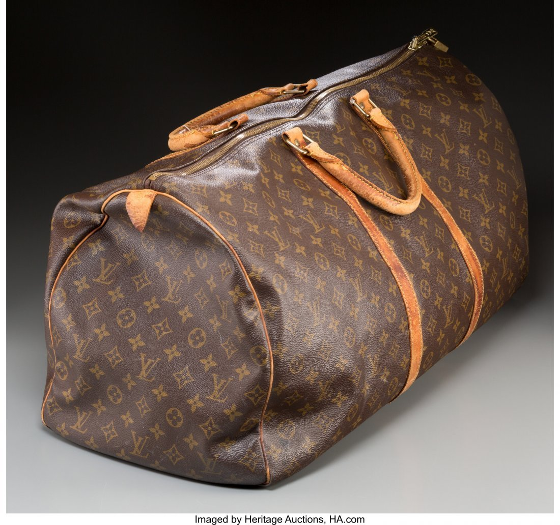 61375: A Louis Vuitton Classic Monogram Leather Duffle  - 2