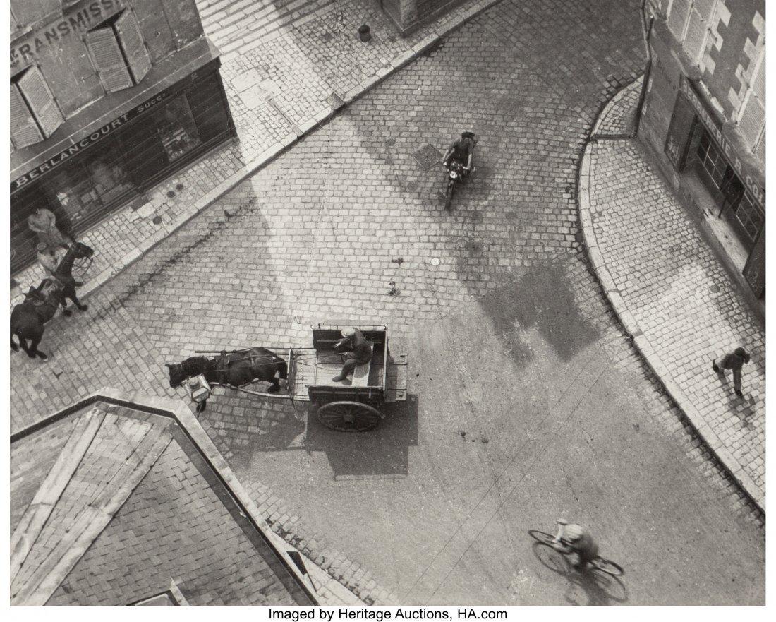 61691: André Kertész (Hungarian, 1894-1985) Carrefour