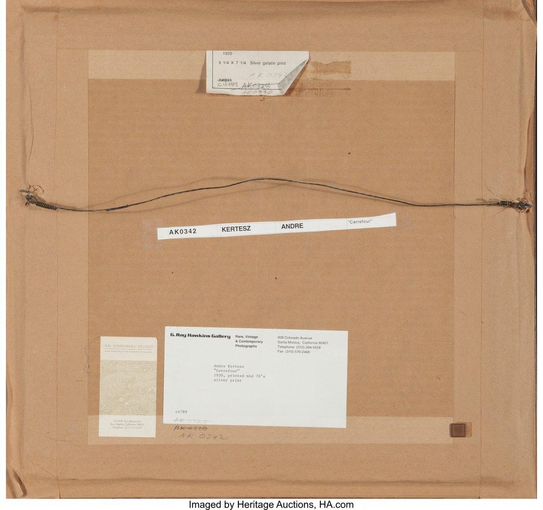 61691: André Kertész (Hungarian, 1894-1985) Carrefour - 3