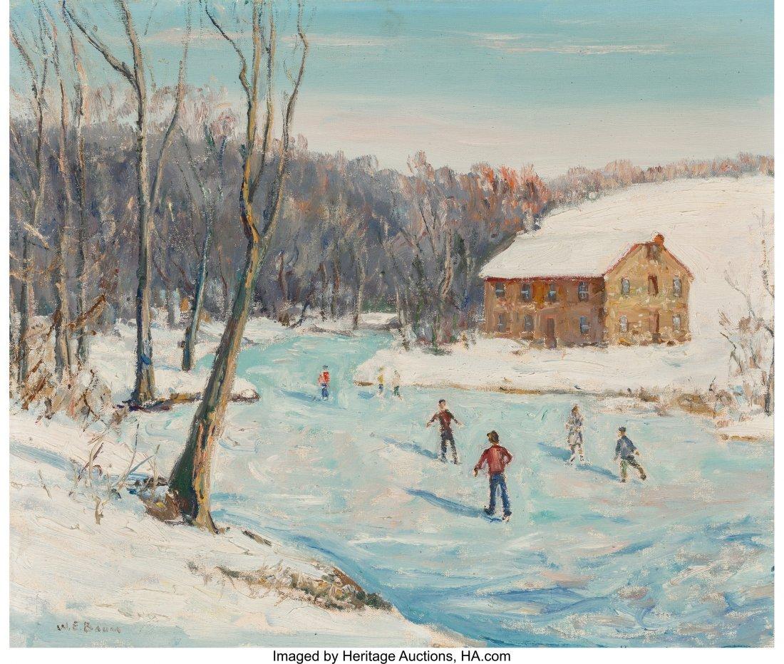 61660: Walter Emerson Baum (American, 1884-1956) Skatin