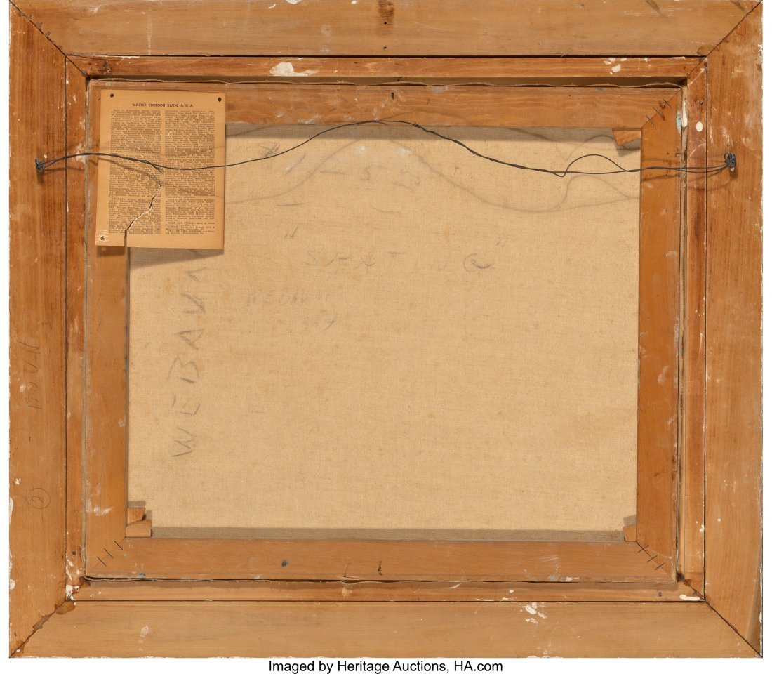 61660: Walter Emerson Baum (American, 1884-1956) Skatin - 2
