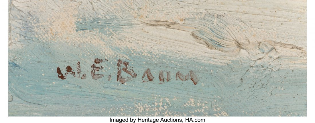 61660: Walter Emerson Baum (American, 1884-1956) Skatin - 3