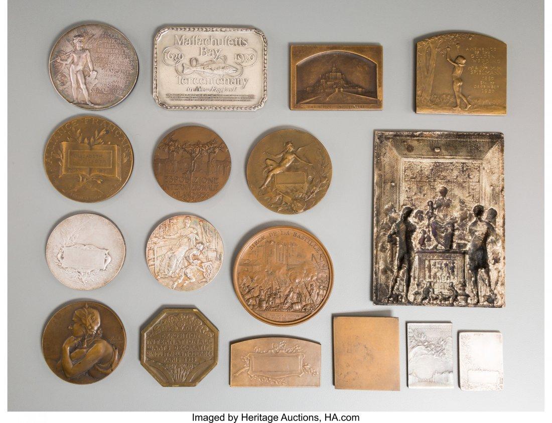 61723: Seventeen Various European Silver, Bronze, Silve - 2