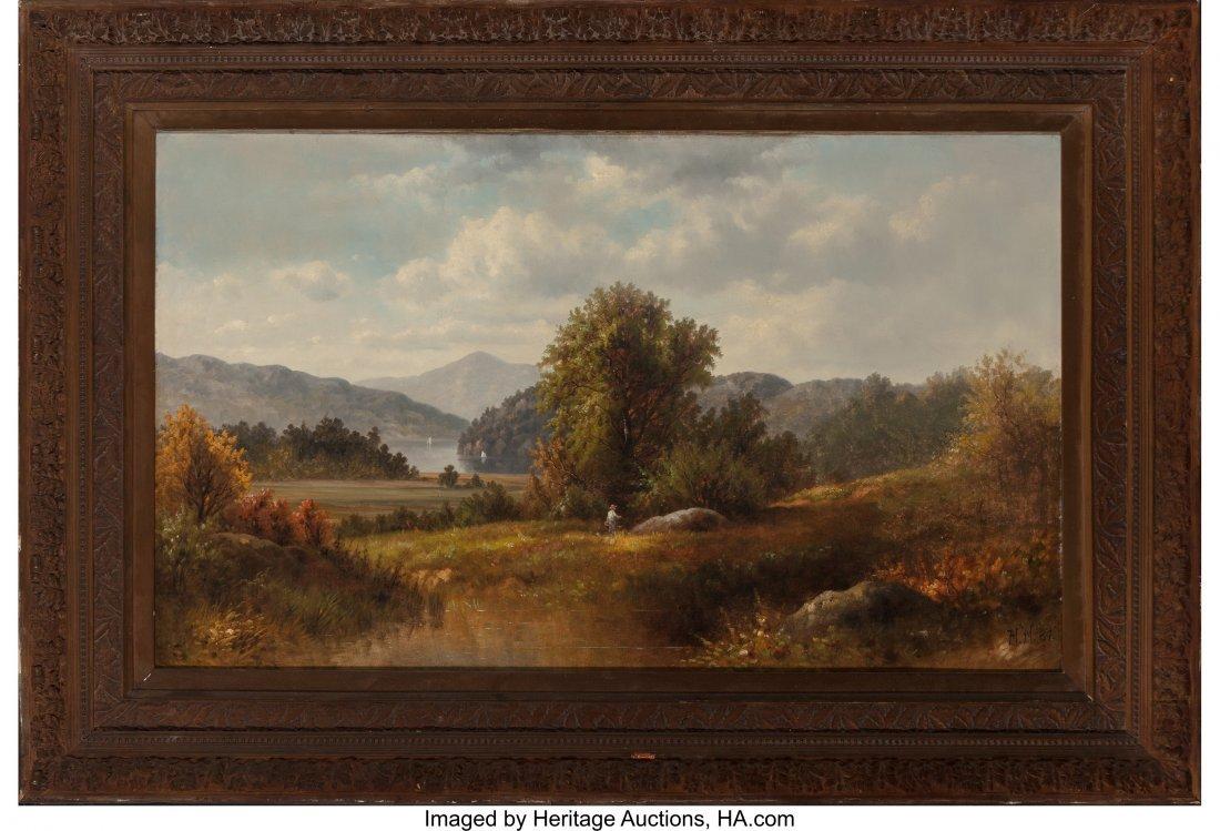61661: American School (Late 19th Century) Hudson River - 2