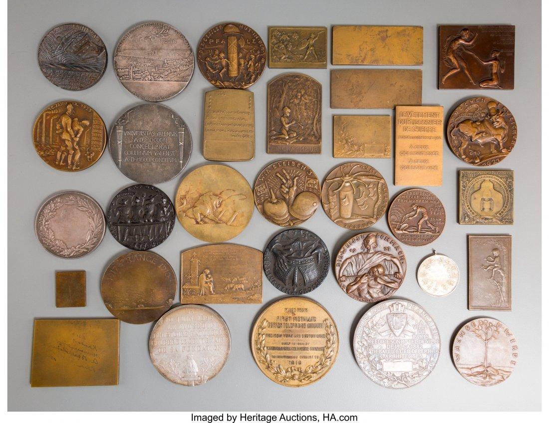 61724: Thirty-Three French, German, and Austrian Bronze - 2