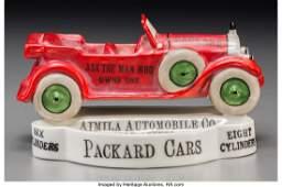 61859 A Rare Porcelain Packard Bombay Dealer Advertisi