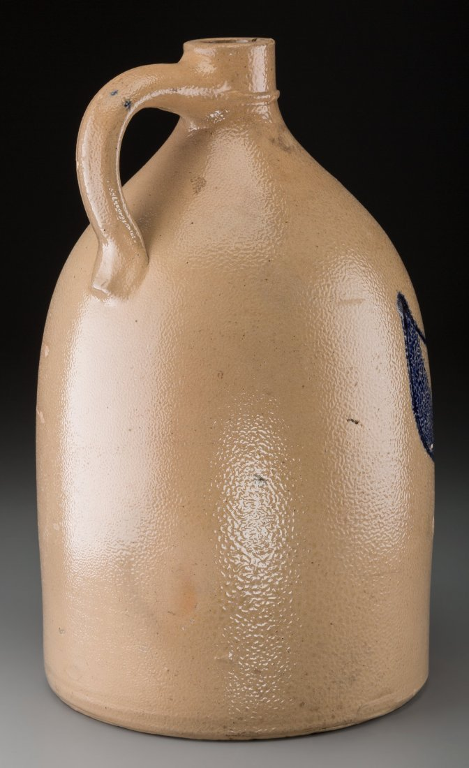 61876: A Noah White & Son American Salt Glazed Jug, cir - 2