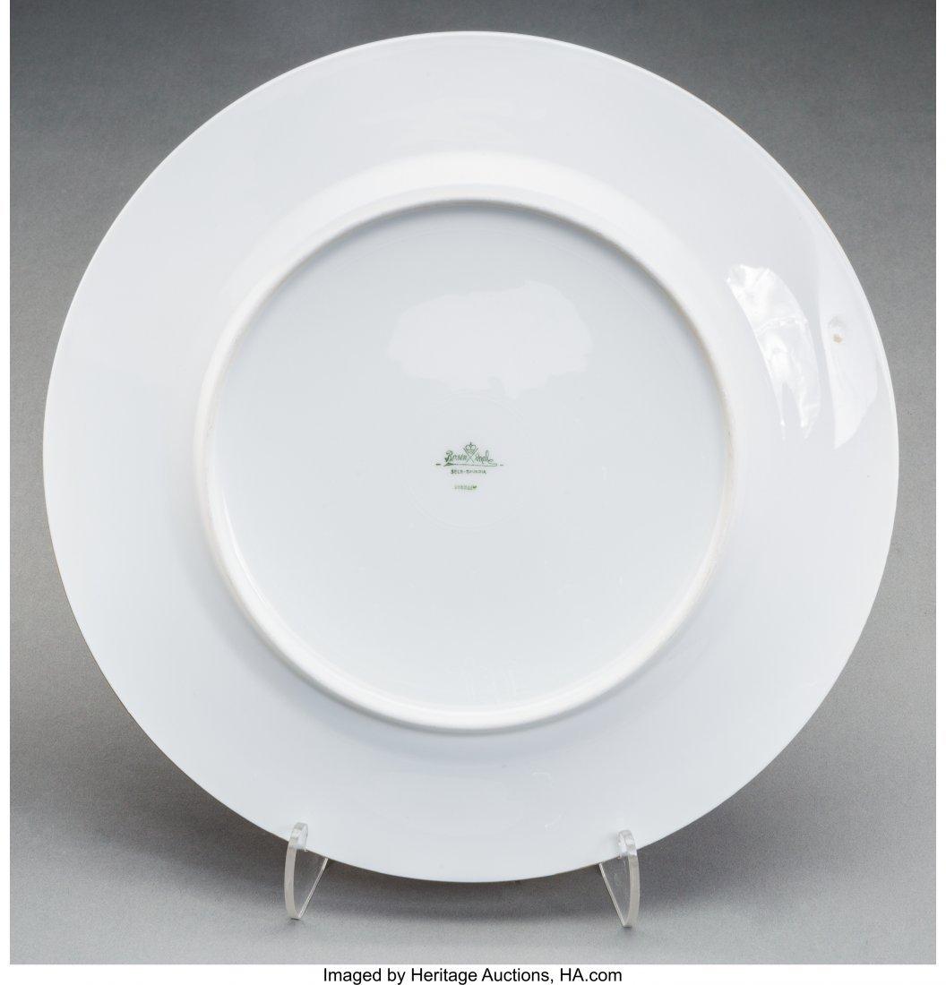 61898: A Group of Nine Rosenthal Gilt Porcelain Floral - 2