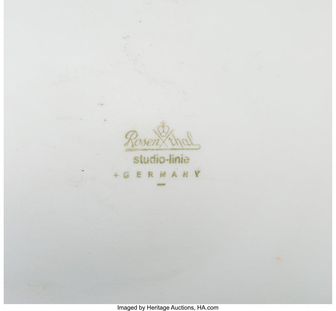 61960: A Tapio Wirkkala for Rosenthal Porcelain Pollo C - 3