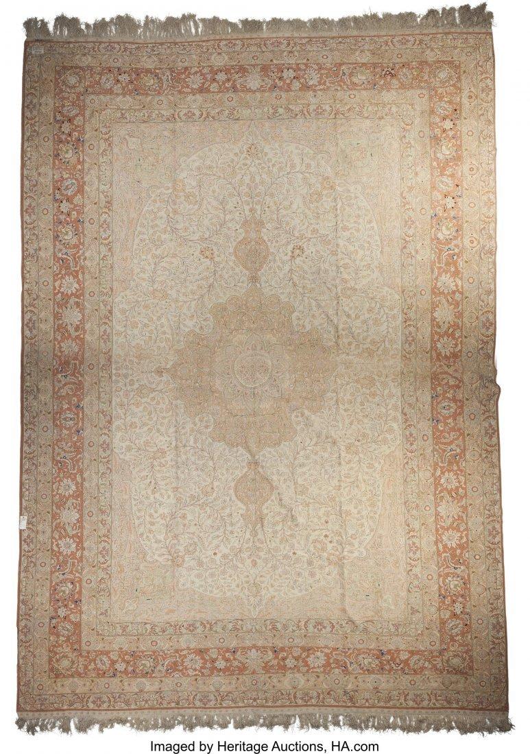 62093: A Kayseri Silk Carpet 18 feet 6 inches long x 12 - 2