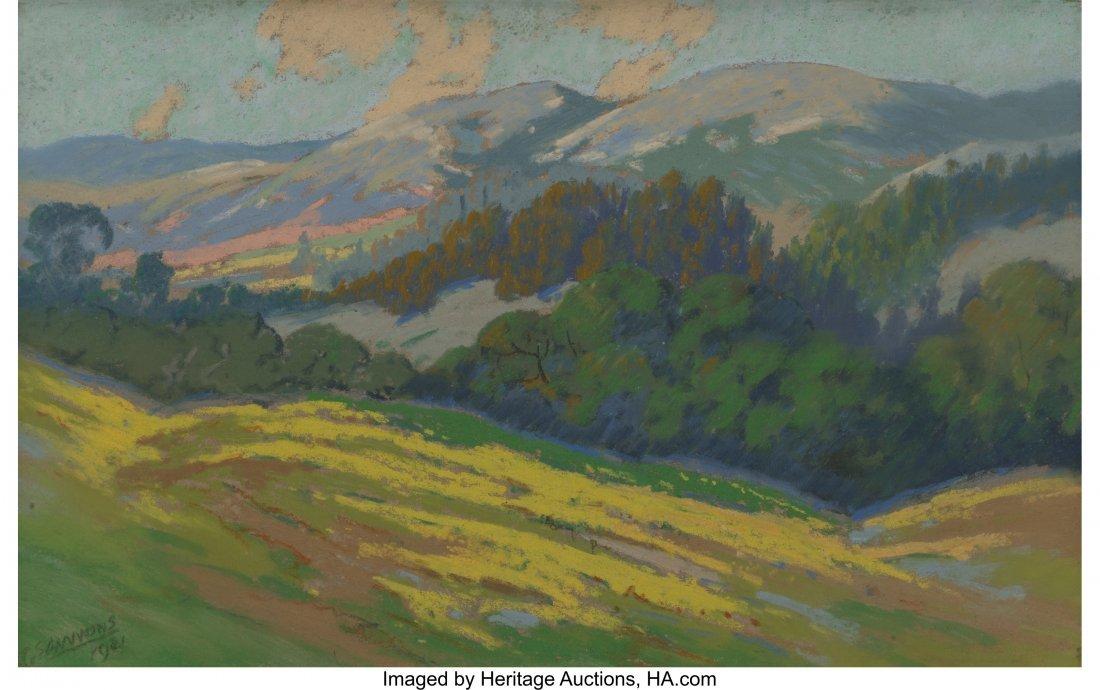 62398: Carl Sammons (American, 1883-1968) Mountain Land