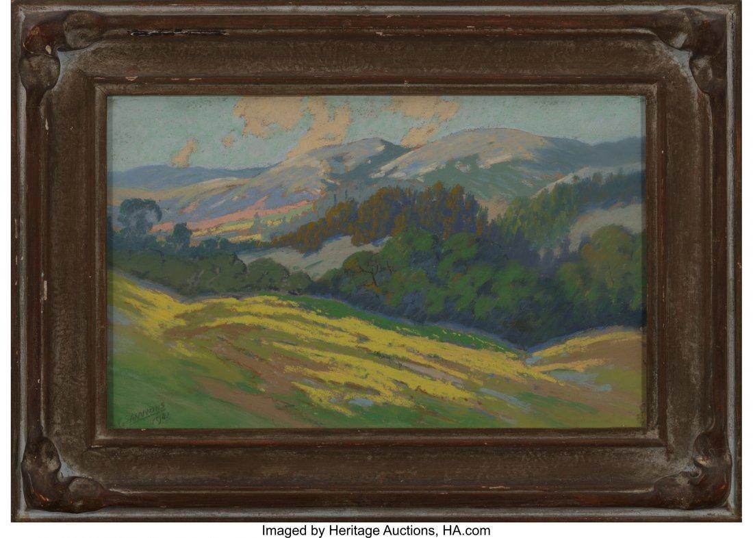 62398: Carl Sammons (American, 1883-1968) Mountain Land - 2