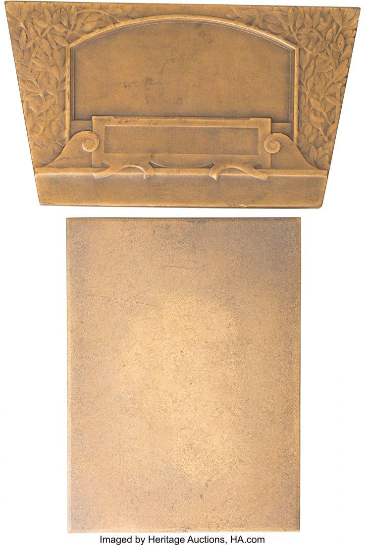 62221: Two Austrian Bronze Automobile Racing Plaques, c - 2