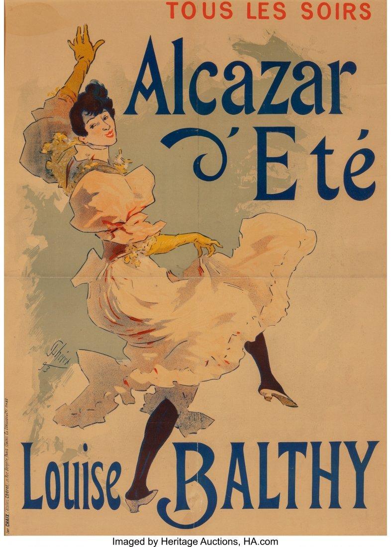 62319: Jules Chéret (French, 1836-1932) Alcazar d'Ete-