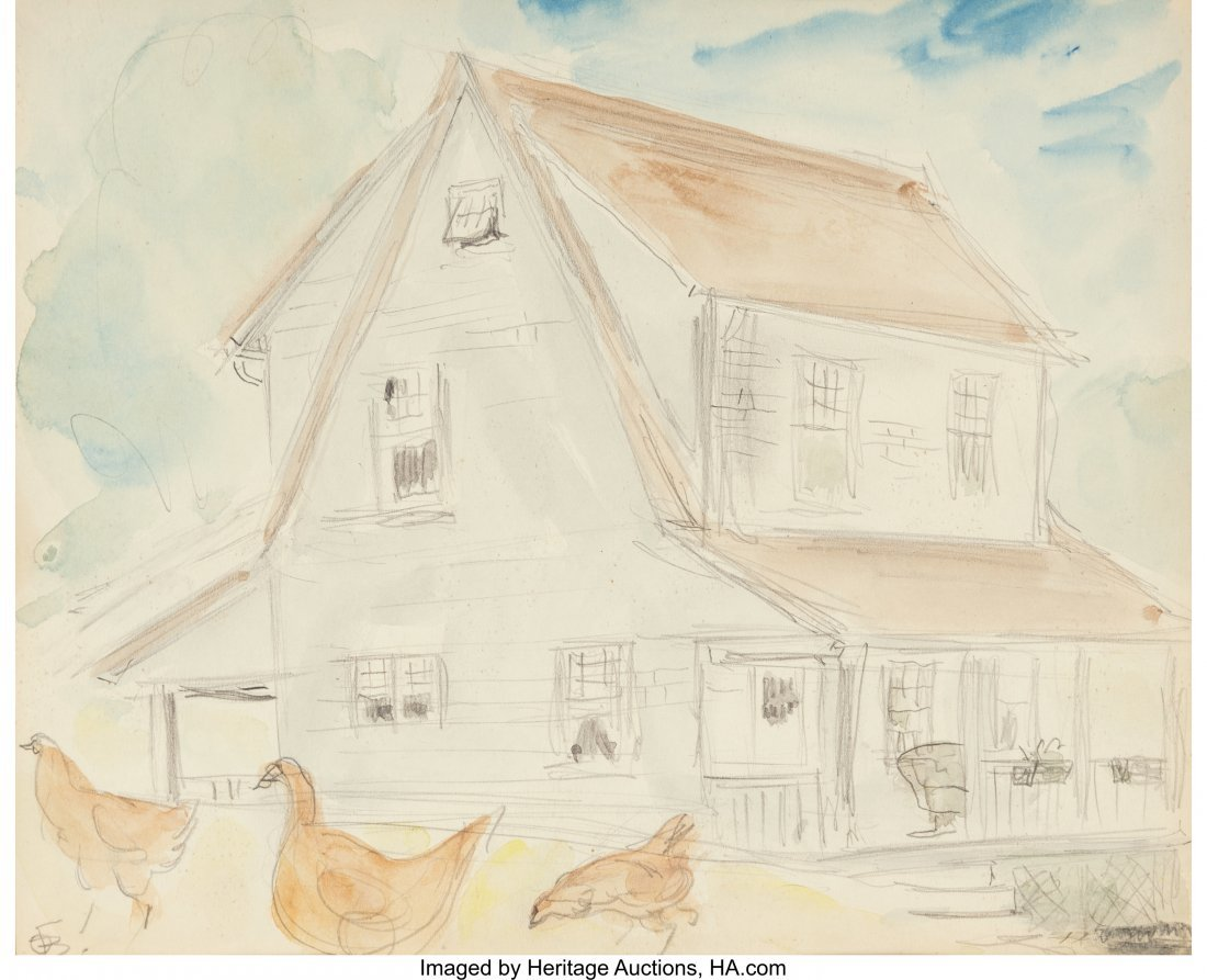 62415: Oscar Florianus Bluemner (American, 1867-1938) C