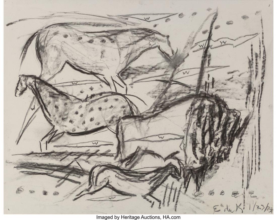 62429: Elaine de Kooning (American, 1919-1989) Untitled