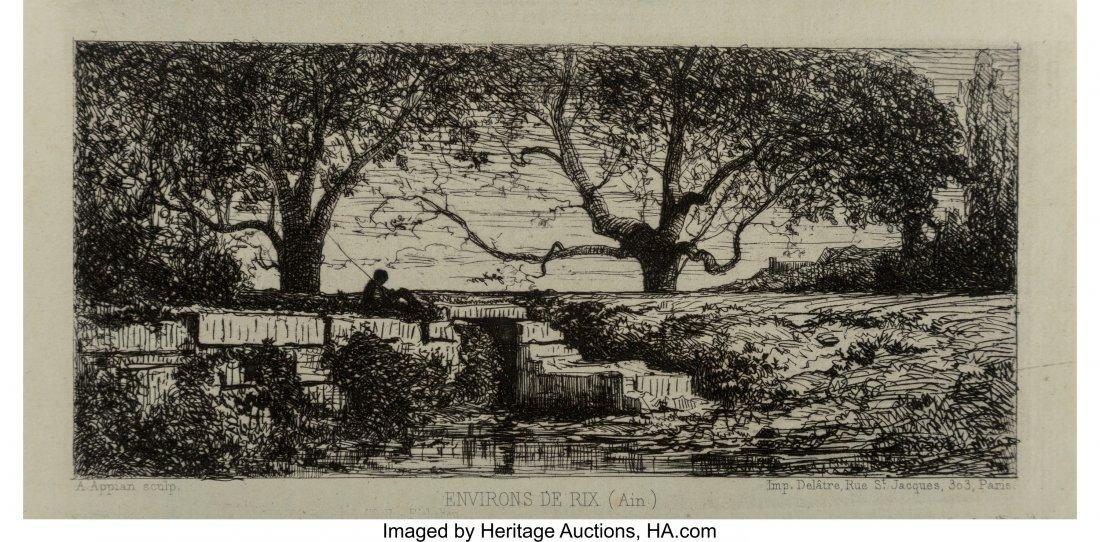 62344: Adolphe Appian (French, 1818-1898) Environs De R