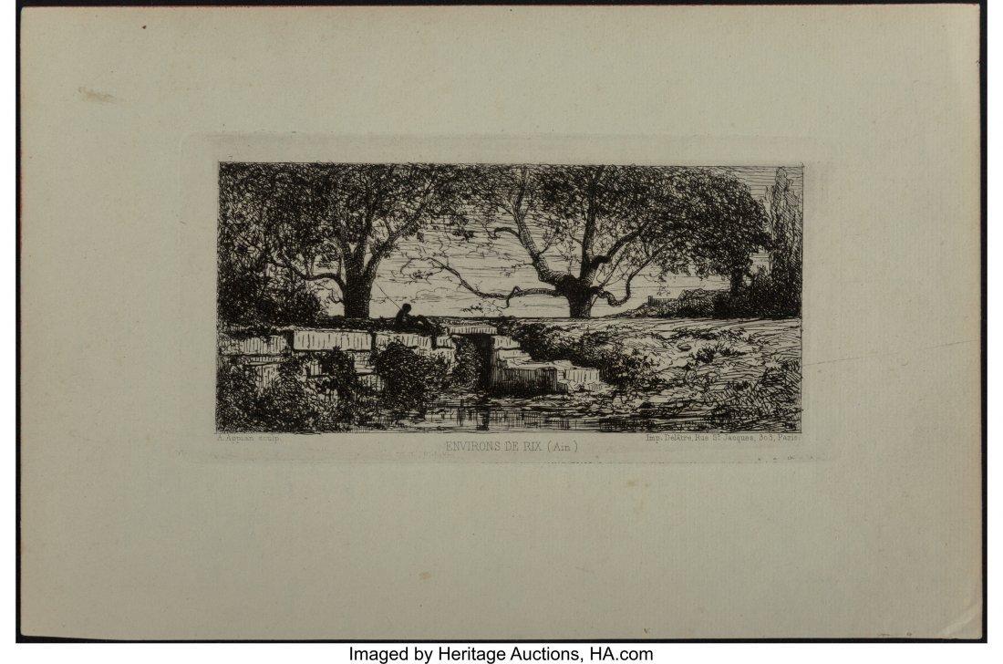62344: Adolphe Appian (French, 1818-1898) Environs De R - 2