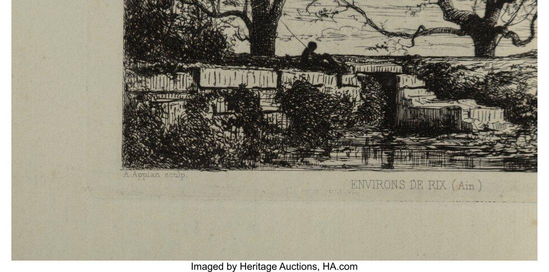 62344: Adolphe Appian (French, 1818-1898) Environs De R - 3
