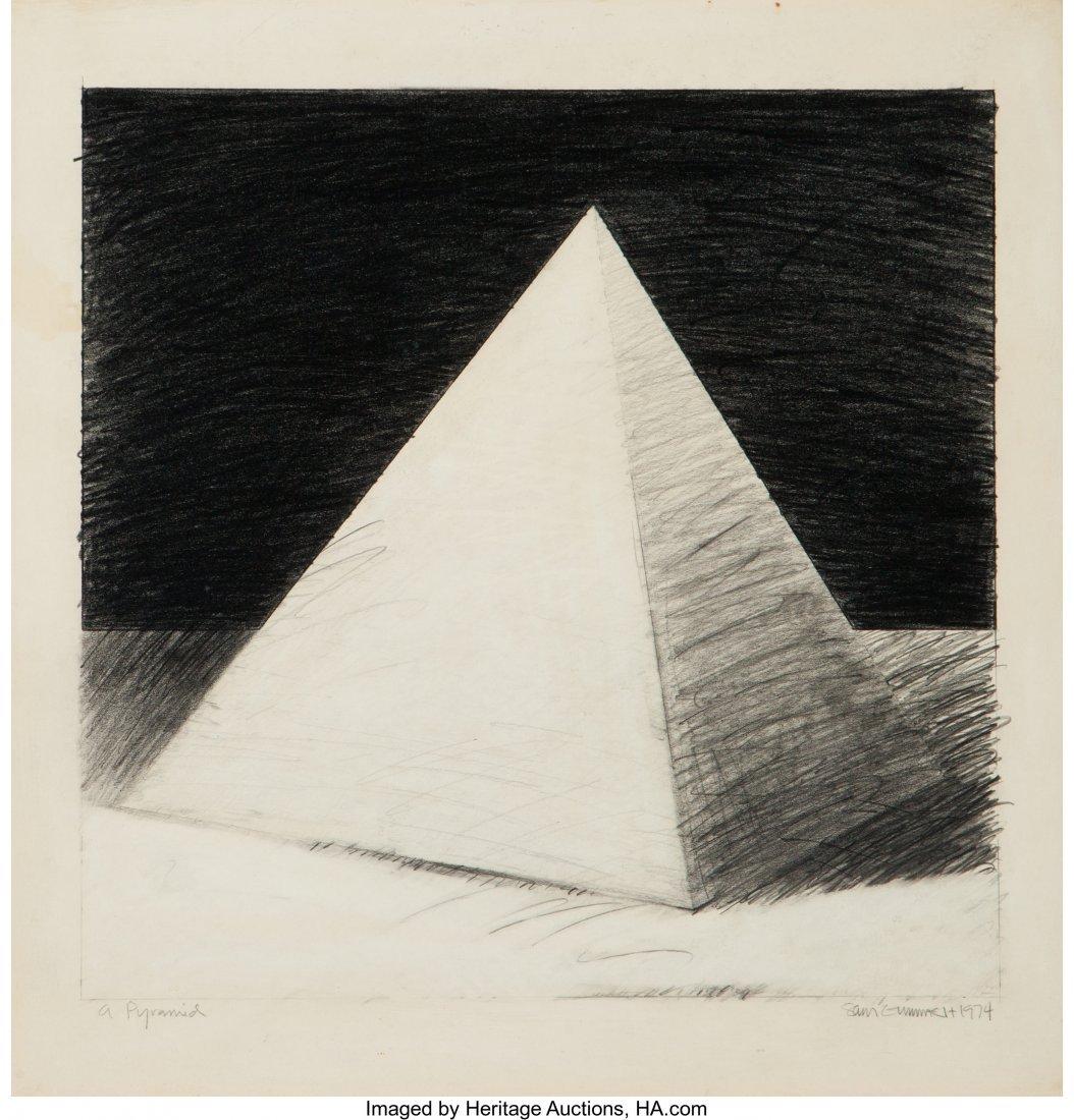 62435: Sam Gummelt (American, b. 1944) A Pyramid, 1974
