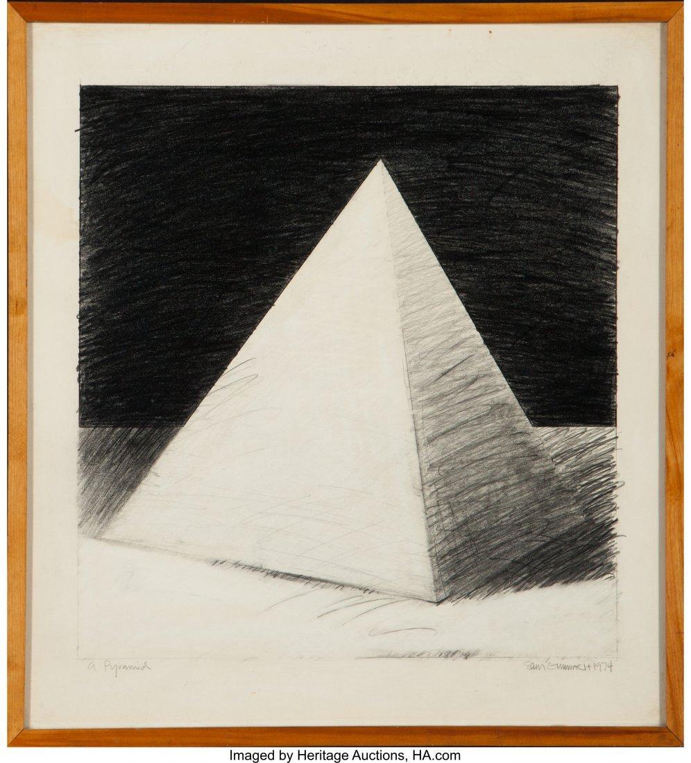 62435: Sam Gummelt (American, b. 1944) A Pyramid, 1974 - 2