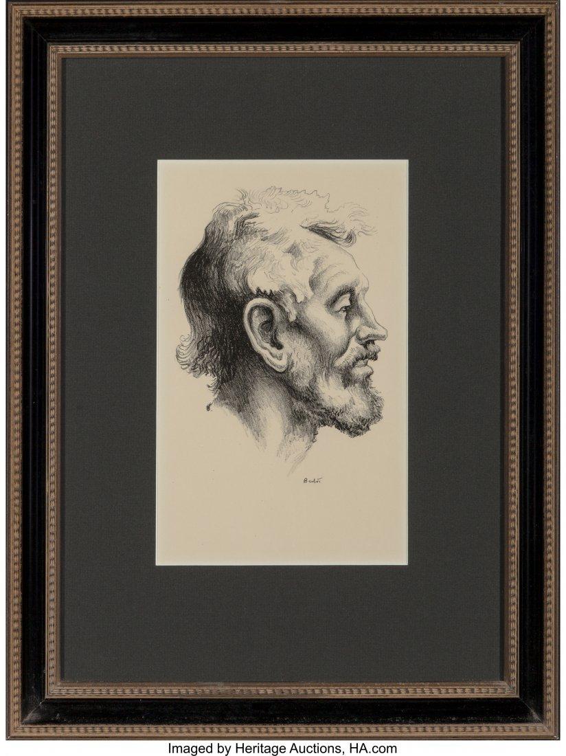 62350: Thomas Hart Benton (American, 1889-1975) Tom Kee - 2